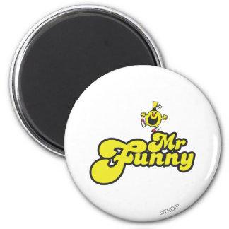 Sr Funny Logo 1 2 Imán De Frigorífico