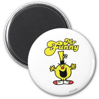 Sr Funny Logo 1 Imán Para Frigorífico