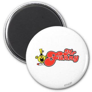 Sr Funny Logo 2 Imán Para Frigorífico
