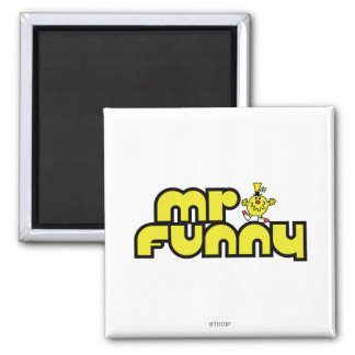 Sr Funny Logo 3 Imán Para Frigorífico