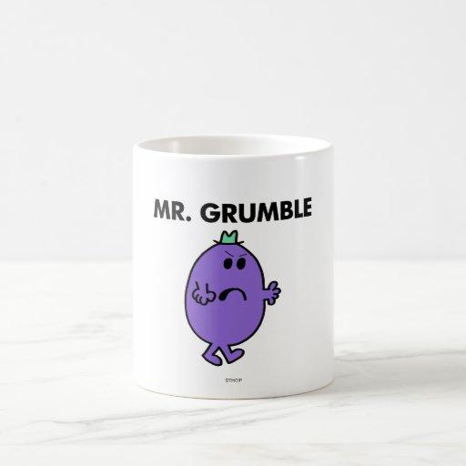 Sr. Grumble Classic Tazas De Café