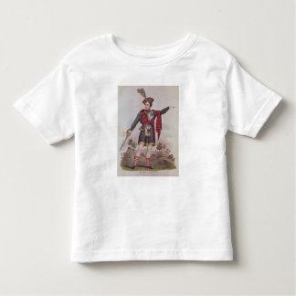 Sr. Macready en el papel de Rob Roy Macgregor Camiseta De Bebé