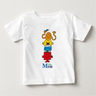 Sr. Men Standing Tall de Sr. Men el | Camiseta De Bebé