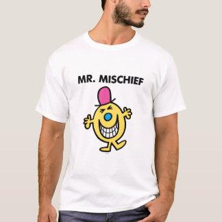 Sr. Mischief el | que sonríe alegre Camiseta