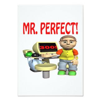 Sr. Perfect Invitación 12,7 X 17,8 Cm