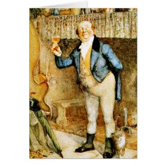 Sr. Pickwick propone una tostada de Frank Reynolds Tarjeta De Felicitación