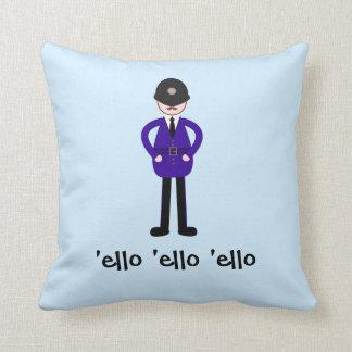 Sr. Plod The Policeman Cojín
