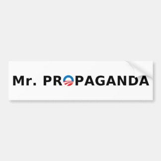 Sr. Propaganda Pegatina Para Coche