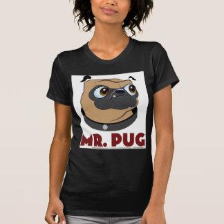 Sr. Pug Clothes Camiseta