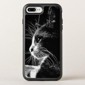 Sr. Purr en B&W Funda OtterBox Symmetry Para iPhone 8 Plus/7 Plus