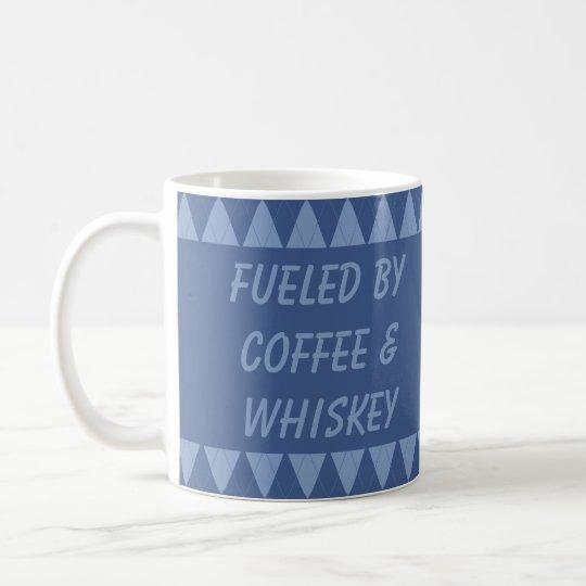 Sr. Sassy Custom Argyle Mugs 07 Taza De Café