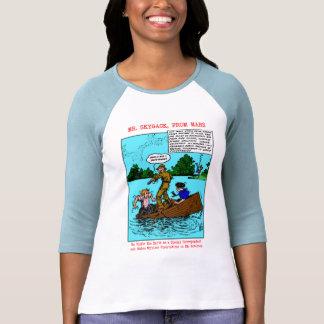 Sr. Skygack Observes Boaters Shirts Camiseta