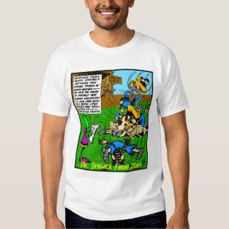 Sr. Skygack Observes un partido de fútbol Camiseta