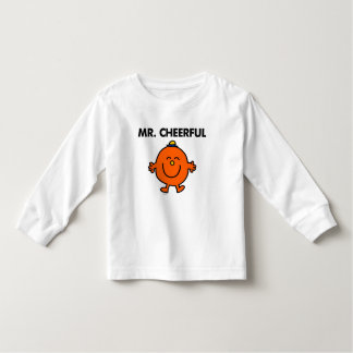 Sr. sonriente Cheerful Camisetas