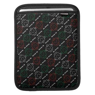 Sr. Strong modelo rojo, blanco y verde del | Funda Para iPads