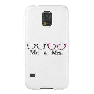 Sr. Y señora Geek Carcasas De Galaxy S5