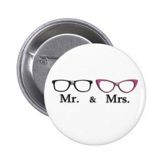 Sr Y señora Geek Pin