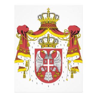 Srbija Grb - Veliki/escudo de armas servio - grand Tarjetas Publicitarias