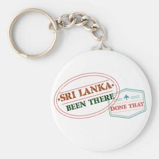 Sri Lanka allí hecho eso Llavero Redondo Tipo Chapa