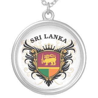 Sri Lanka Collar Plateado