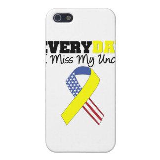 Srta diaria My tío Military de I iPhone 5 Fundas