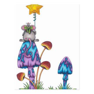 Srta. Mouse - coloreado Postal