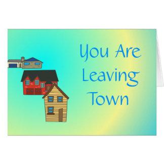 Srta. You > las tarjetas de despedida