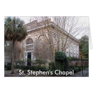 ss2, la capilla de St Stephen Tarjeta