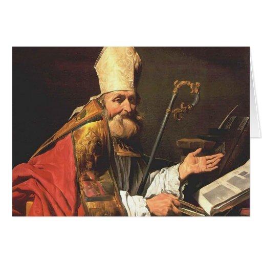 St Ambrose de Matías Stom Tarjeta