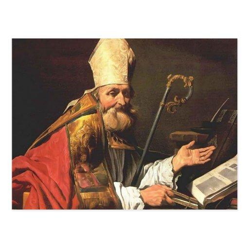 St Ambrose de Matías Stom Tarjetas Postales