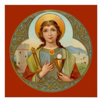"St. Barbara (BK 001) 20"" x20"" poster #3"