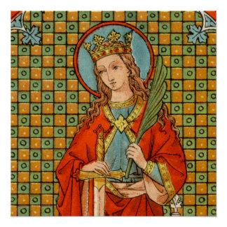 "St. Barbara (JP 01) 20"" x20"" poster #1"