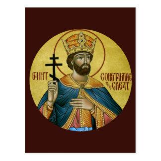 St. Constantina la gran tarjeta del rezo