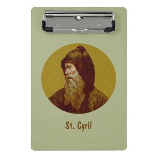 St. Cyril el monje (M 002) Minicarpeta De Pinza