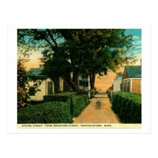 St. de Atkins, Provincetown, vintage de Postal