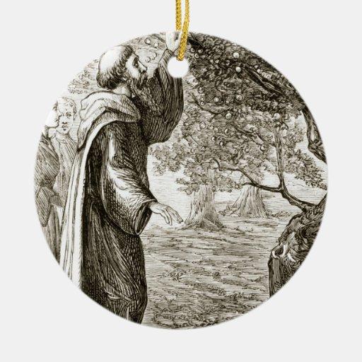 St. El Columba cambia la fruta amarga en el dulce, Adorno Para Reyes