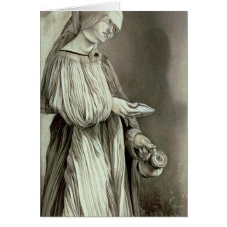 St. Elizabeth de Hungría 1509 Tarjeta De Felicitación