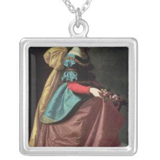 St. Elizabeth de Portugal 1640 Collar Plateado