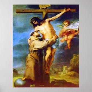 St Frances del poster de Assisi 2 Póster