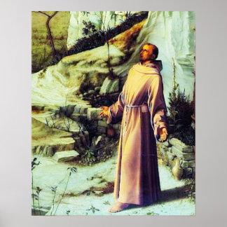 St Francis de Assisi - San Francisco de Asis 07 Póster