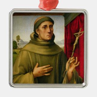 St Francis de Assissi, c.1490 (tempera en el Adorno De Reyes