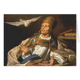 St Gregory de Matías Stom Tarjeta De Felicitación