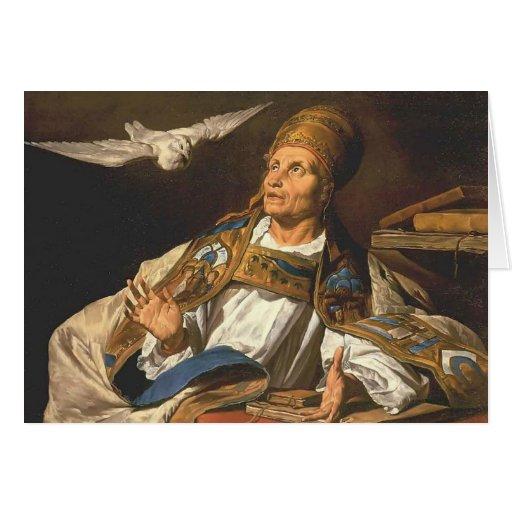 St Gregory de Matías Stom Tarjeton