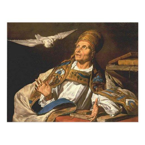 St Gregory de Matías Stom Postales