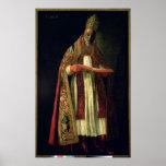 St Gregory el grande Póster