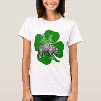 St irlandés de consumición divertido Patricks del Camiseta