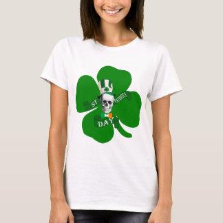 St irlandés Patricks del cráneo Camiseta
