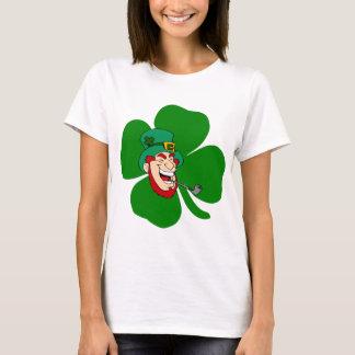 St irlandés Patricks del leprechaun divertido Camiseta
