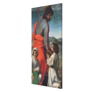 St. Jacob, c.1524-29 (aceite en lona) Impresión En Lienzo