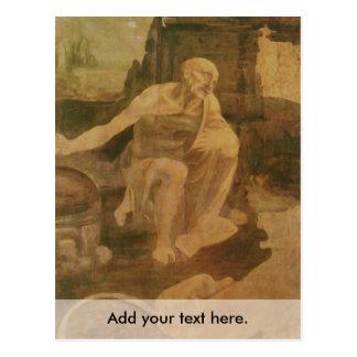 St Jerome en el desierto Tarjetas Postales